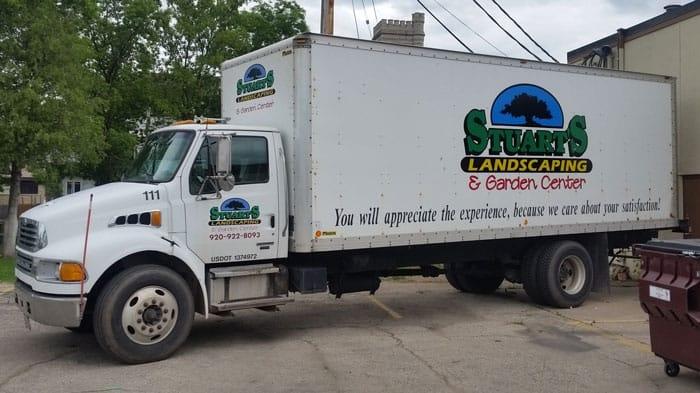 Stuarts_Landscaping_Large_truck_Driver_side